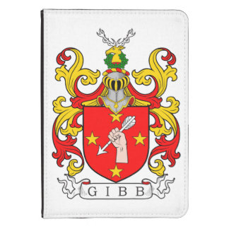 Gibb Coat of Arms (Scottish) Kindle Cover