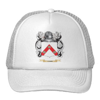 Gibbe Coat of Arms (Family Crest) Hats