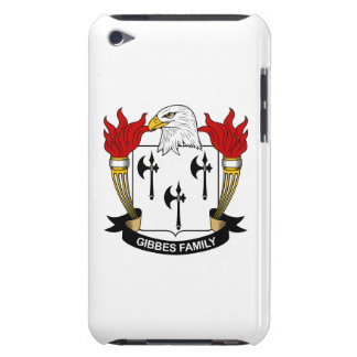 Gibbes Family Crest iPod Touch Case-Mate Case