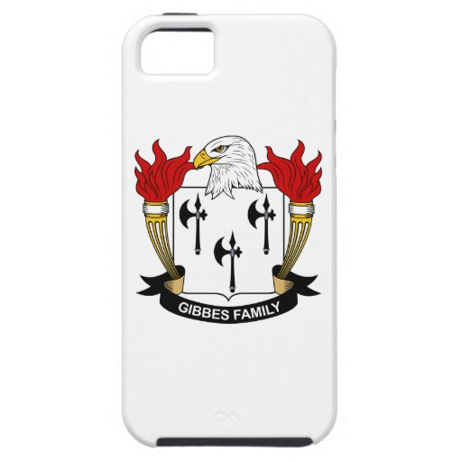 Gibbes Family Crest iPhone 5 Cover