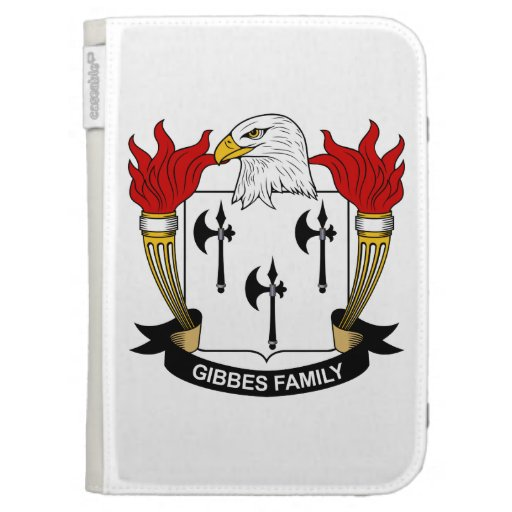 Gibbes Family Crest Kindle 3 Cover