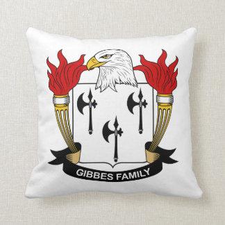 Gibbes Family Crest Pillow