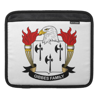 Gibbes Family Crest Sleeves For iPads