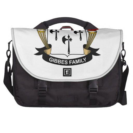 Gibbes Family Crest Laptop Commuter Bag