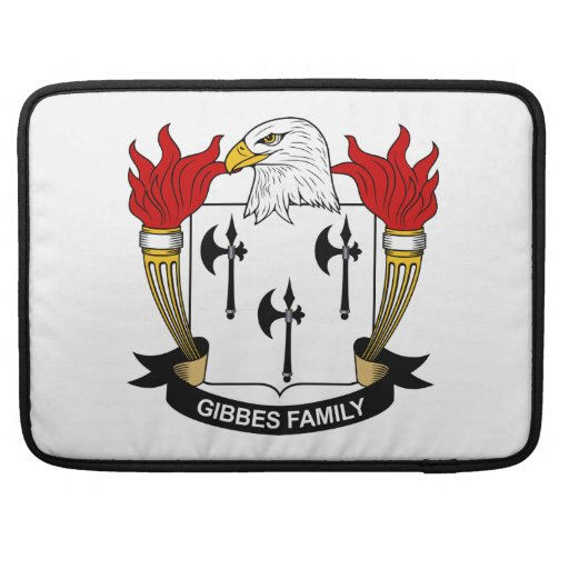 Gibbes Family Crest MacBook Pro Sleeve