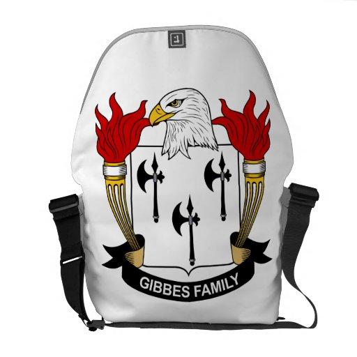 Gibbes Family Crest Messenger Bag