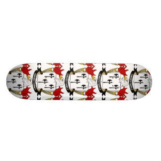 Gibbes Family Crest Skate Board
