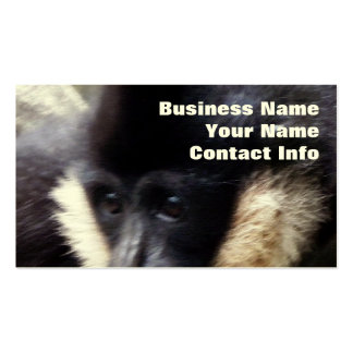 Gibbon Ape Pastel Double-Sided Standard Business Cards (Pack Of 100)