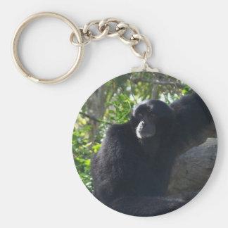 Gibbon Key Ring