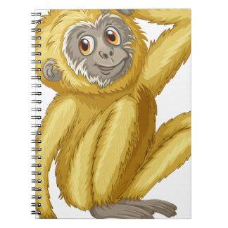 Gibbon Spiral Notebooks