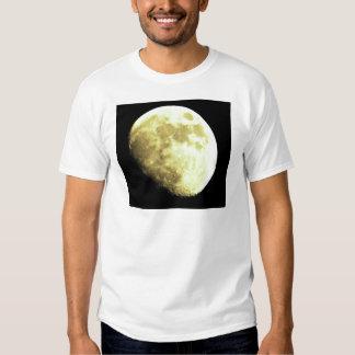 Gibbous Moon Dark background Tshirt