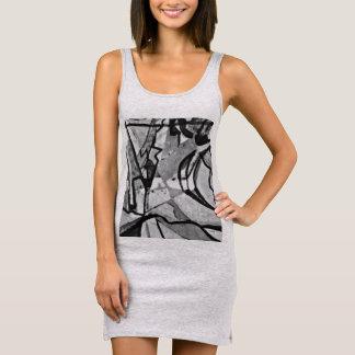 Gibbous Sleeveless Dress