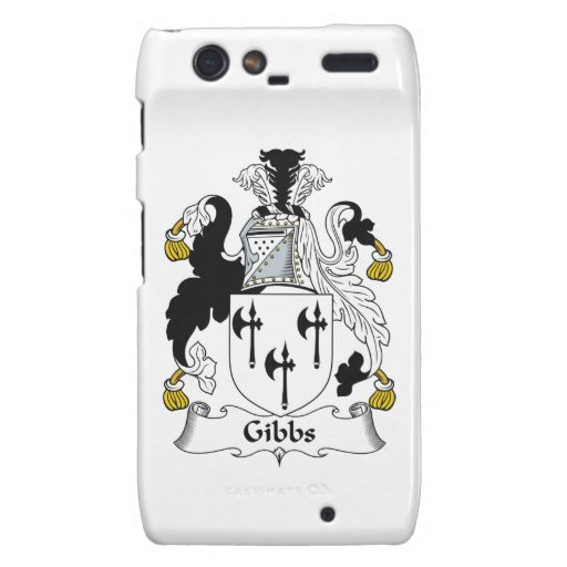 Gibbs Family Crest Droid RAZR Cover