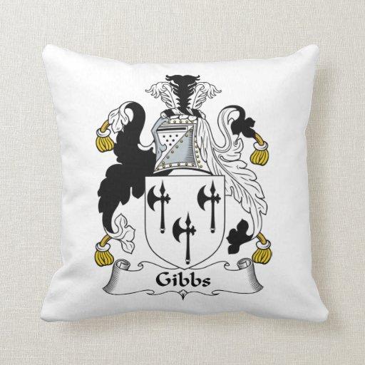 Gibbs Family Crest Pillows