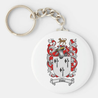 GIBBS FAMILY CREST -  GIBBS COAT OF ARMS KEY RING