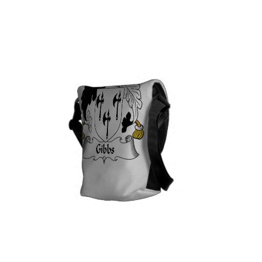 Gibbs Family Crest Courier Bag