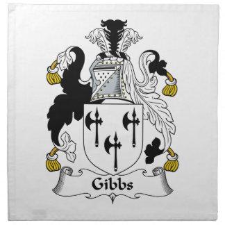 Gibbs Family Crest Napkins