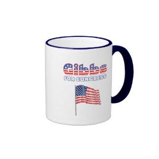 Gibbs for Congress Patriotic American Flag Coffee Mug