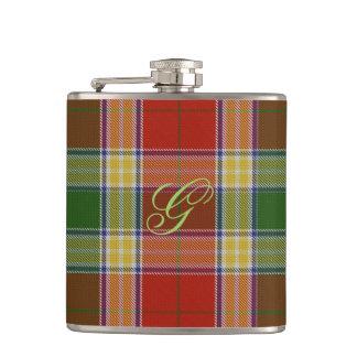 Gibbs/Gibson Tartan Flask