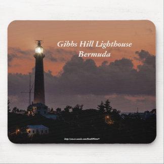 Gibbs Hill Lighthouse at Sunset Mousepad