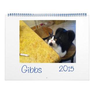 Gibbs Calendar