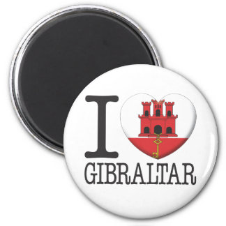 Gibraltar 6 Cm Round Magnet