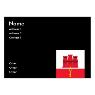 Gibraltar Pack Of Chubby Business Cards