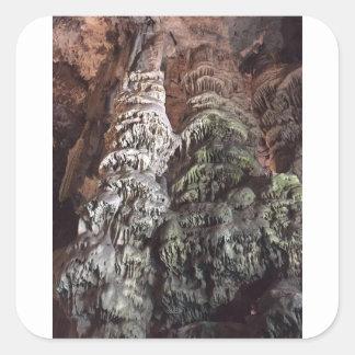 Gibraltar Caves Square Sticker