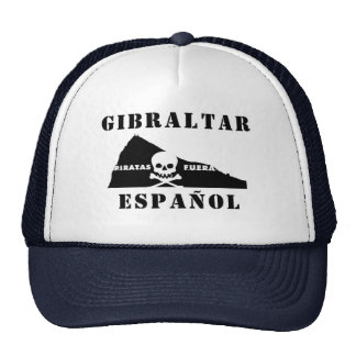 GIBRALTAR ESPAÑOL GORROS