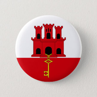 Gibraltar Flag Button