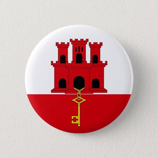 Gibraltar Flag Button