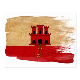 Gibraltar Flag Postcards