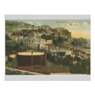 Gibraltar - Gas Works, Vintage Personalized Flyer