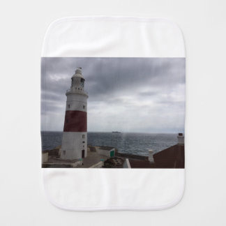 Gibraltar Lighthouse Burp Cloth