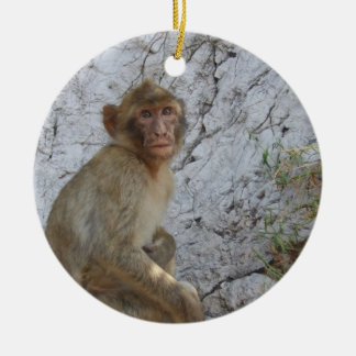 Gibraltar Monkeys ornament