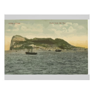 Gibraltar Rock From The Bay, Vintage Flyers