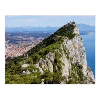 Gibraltar Rock Postcard