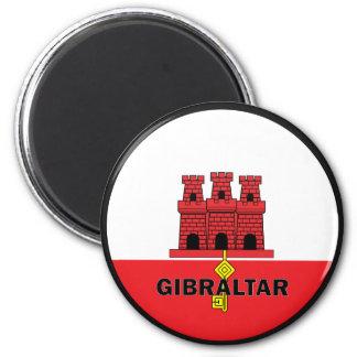 Gibraltar Roundel quality Flag Magnet