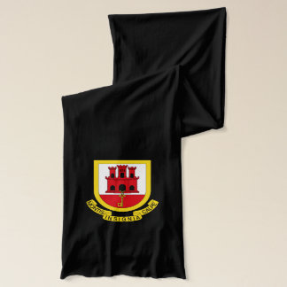 Gibraltarian coat of arms scarf