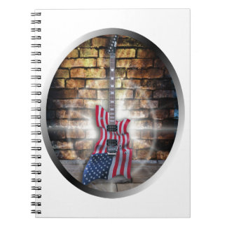 Gibson American Flag Guitar Note Book