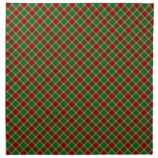 Gibson / Gibbs Clan Tartan Designed Print Cloth Napkins