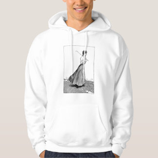 Gibson Girl With Golf Club, 1899 Hoodie