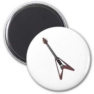 Gibson guitar guitar 6 cm round magnet