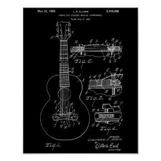 Gibson Guitar Patent poster #3