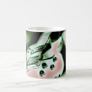 Gibson popart basic white mug