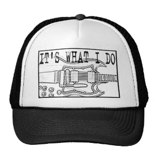 GIBSON SG-IT'SWHAT I DO HATS