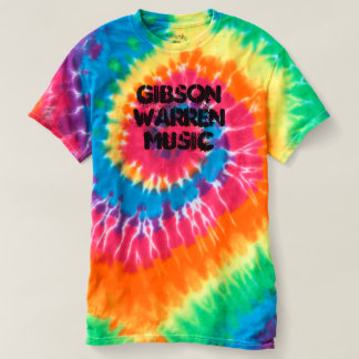 Gibson Warren Music Tie-Dye Tee