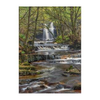 Gibsons Cave waterfall Acrylic Print