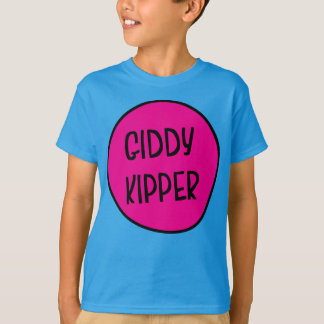 Giddy Kipper, Funny British Saying Children's Tee