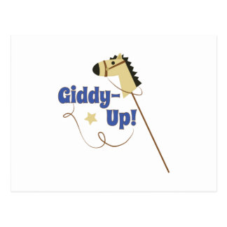 Giddy Up Postcard